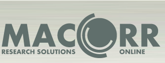 Logo MaCorr Research - A market research, surveys, questionnaires, business research and business intelligence company